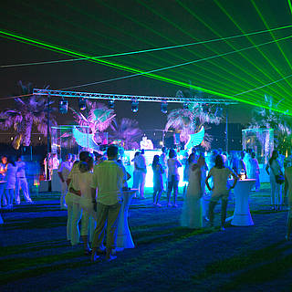 White Night, Partyurlaub, Entertainment im Robinson Club