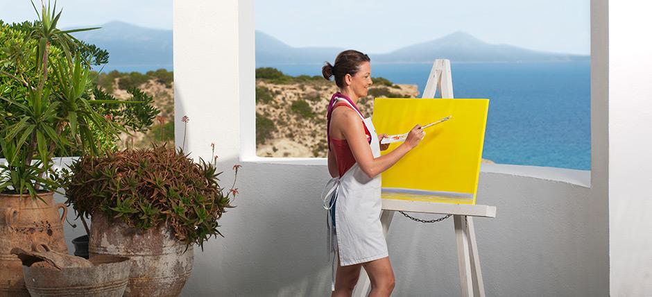 Urlaub vor malerischer Kulisse