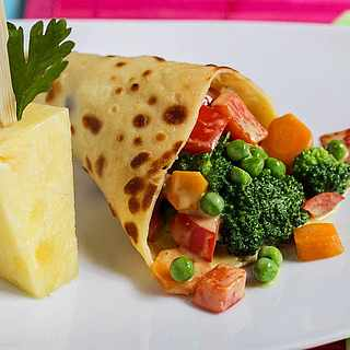 Wrap mit Gemüse