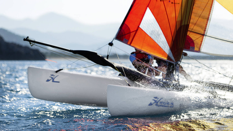 Katamaran segeln  Segeln: Katamaransegeln für Kinder u. Erwachsene - Robinson.com