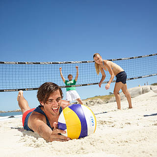 Beach-Volleyball im Robinson Club