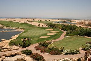 Golfen in Soma Bay