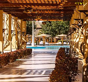 Clubanlage Terrasse ROBINSON CLUB SOMA BAY Ägypten