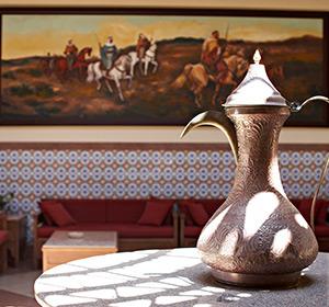 Clubanlage Detail Teekanne ROBINSON CLUB SOMA BAY Ägypten