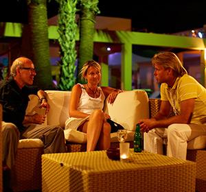 Kulinarisches Abend Sitzgruppe ROBINSON CLUB SOMA BAY Ägypten