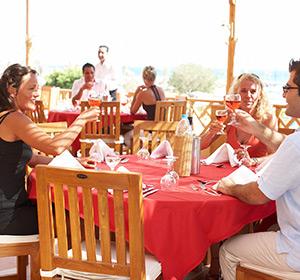 Kulinarisches Strand Restaurant ROBINSON CLUB SOMA BAY Ägypten