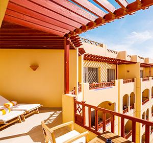 Suite seitlicher Meerblick Typ1 Terasse SUX1 ROBINSON CLUB SOMA BAY, Ägypten