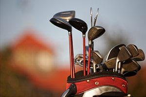 Golfen im Club