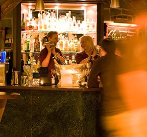 Bar am Abend im ROBINSON CLUB FLEESENSEE, Deutschland