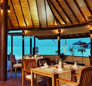 Kulinarisches Spezialitäten Restaurant ROBINSON CLUB MALDIVES Malediven