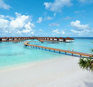 Wasserbungalows ROBINSON CLUB MALDIVES Malediven