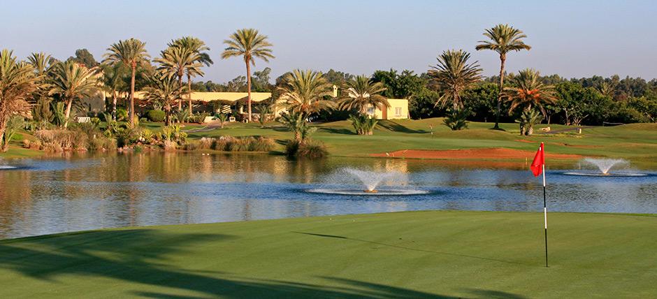 Le golf dans un environnement unique