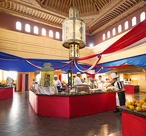 Kulinarisches Buffet im ROBINSON CLUB AGADIR Marokko