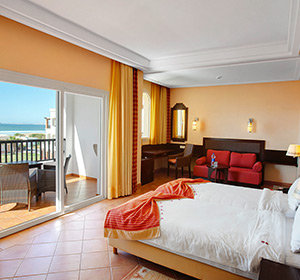 Doppelzimmer mit Meerblick Innenansicht ROBINSON CLUB AGADIR, Marokko