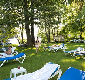 Clubanlage Liegebereich Sommer ROBINSON CLUB LANDSKRON Österreich