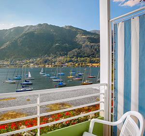 Zimmer Doppelzimmer Seeseite Typ2 Balkon (DZS2) ROBINSON CLUB LANDKRON, Österreich