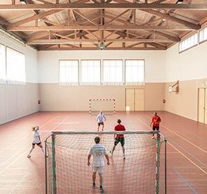 Clubanlage Sporthalle im ROBINSON CLUB AMPFLWANG Österreich
