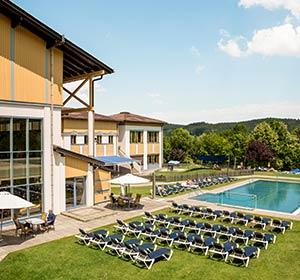 Clubanlage Pool ROBINSON CLUB AMPFLWANG Österreich