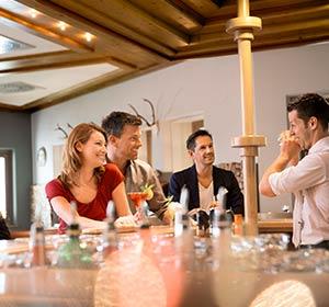 Essen & Trinken Bar ROBINSON CLUB AMPFLWANG Österreich