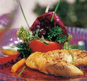Frisch zubereitete Speisen im Club Ampflwang - Robinson.com