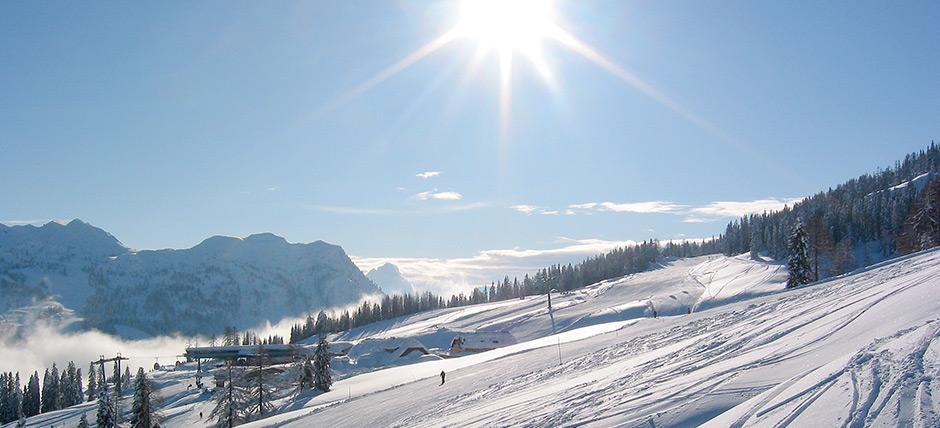 Wintererlebnis in Kärntens<br>größtem Skigebiet