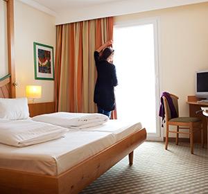 Zimmer Doppelzimmer Typ 1 DZX1 ROBINSON CLUB SCHLANITZEN ALM, Österreich