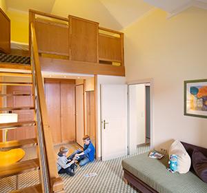 Zimmer, Familienzimmer Typ 1, FZX1, ROBINSON CLUB SCHLANITZEN ALM, Österreich