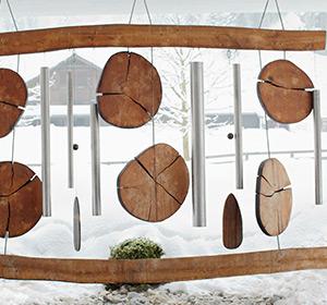 Winter Detail Windspiel ROBINSON CLUB AMADÉ Österreich