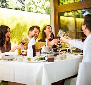 Restaurant gesellige Runde ROBINSON CLUB AMADÉ Österreich