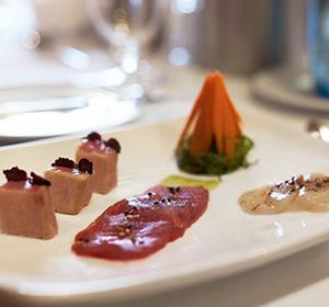 Kulinarisches Lachs ROBINSON CLUB ALPENROSE ZÜRS, Österreich