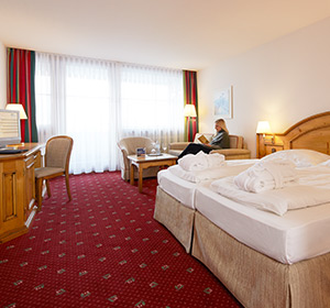 Zimmer Doppelzimmer DZ ROBINSON CLUB ALPENROSE ZÜRS, Österreich