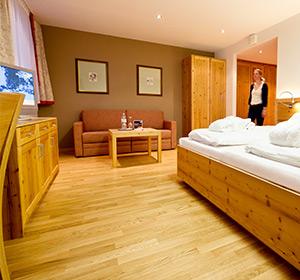 Zimmer Doppelzimmer renoviert ROBINSON CLUB ALPENROSE ZÜRS, Österreich