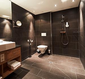 Zimmer Doppelzimmer Bad renoviert ROBINSON CLUB ALPENROSE ZÜRS, Österreich