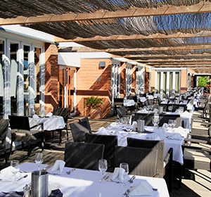 Restaurant Außenterrasse ROBINSON CLUB QUINTA DA RIA Portugal