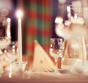 Restaurant Kerzenschein ROBINSON CLUB AROSA Schweiz