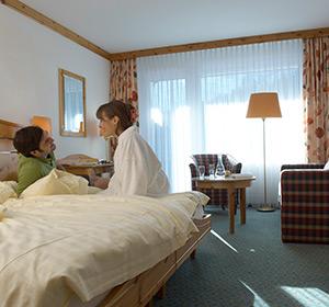Zimmer Doppelzimmer Sommer ROBINSON CLUB AROSA, Schweiz