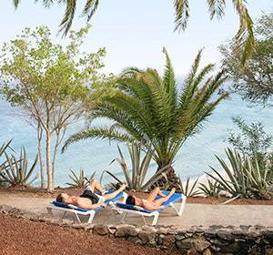 ROBINSON CLUB Esquinzo Playa ruhige Liege mit Ausblick
