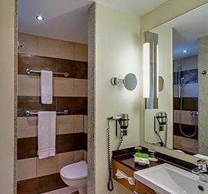 Zimmer Doppelzimmer Typ1 (DZX1) Badezimmer ROBINSON CLUB ESQUINZO PLAYA