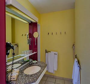 Zimmer Familienzimmer Typ1 (FZE1) Badezimmer ROBINSON CLUB ESQUINZO PLAYA
