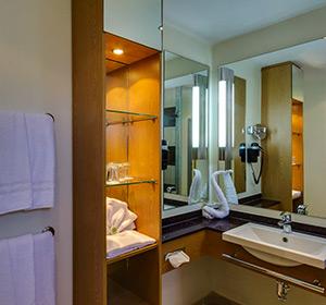 Zimmer Familienzimmer Typ1 (FZX1) Badezimmer ROBINSON CLUB ESQUINZO PLAYA
