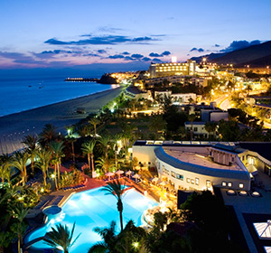 Clubanlage bei Nacht ROBINSON CLUB JANDIA PLAYA Fuerteventura