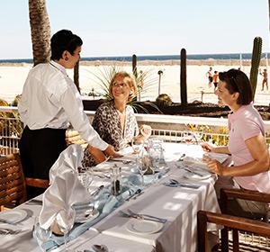 Strand Restaurant Terrasse ROBINSON CLUB JANDIA PLAYA Fuerteventura