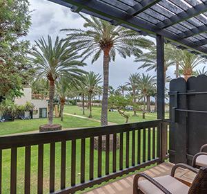 Zimmer Pueblo Terrasse ROBINSON CLUB JANDIA PLAYA Fuerteventura