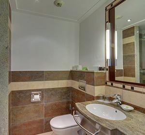 Einzelzimmer Patio Bad ROBINSON CLUB JANDIA PLAYA Fuerteventura