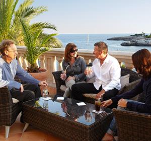 Bar Lounge Terrase ROBINSON CLUB Cala Serena Mallorca