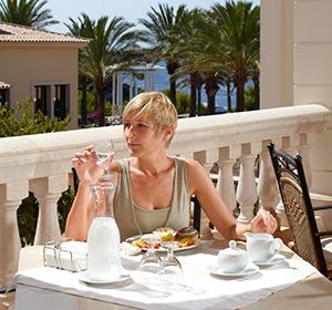 Restaurant Terrasse ROBINSON CLUB Cala Serena Mallorca