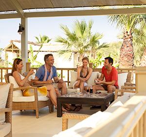Kulinarisches Bar mit Terrasse ROBINSON CLUB NOBILIS Türkei