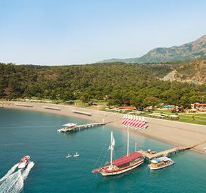 Luftaufnahme Strand ROBINSON CLUB CAMYUVA Türkei