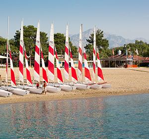 Wassersportbasis ROBINSON CLUB CAMYUVA Türkei