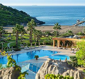 Clubanlage Blick auf Pool ROBINSON CLUB SARIGERME PARK, Türkei